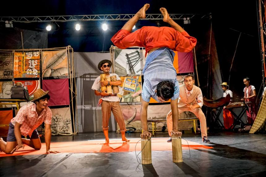 The Phare Cambodian Circus in Siem Reap